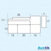 Barco Set 5A Dimensions